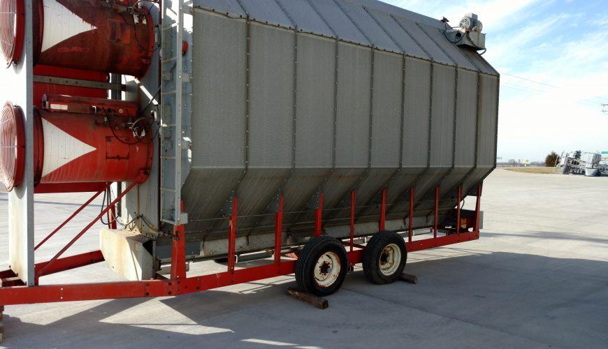 Used Grain Blowers : Used farm fans model cf sa grain dryer