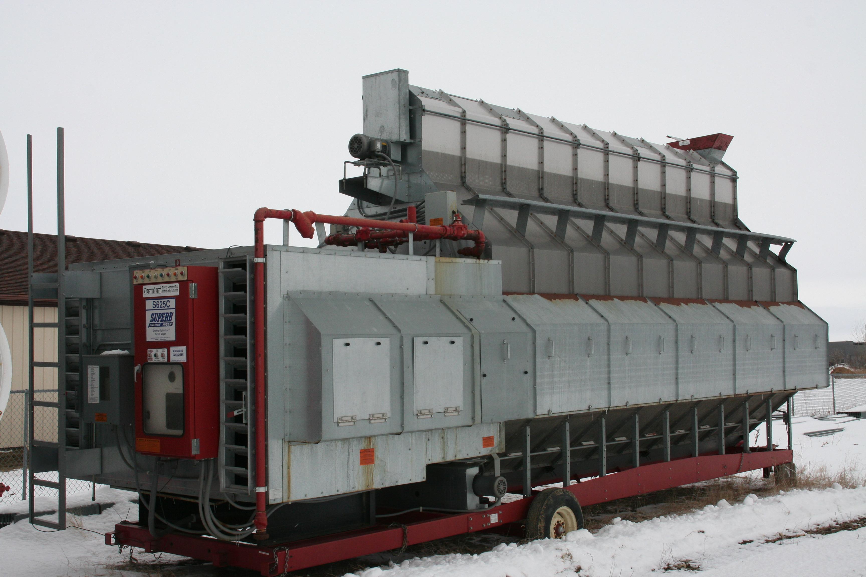 Used Grain Blowers : Used superb sa c grain dryer dryers network