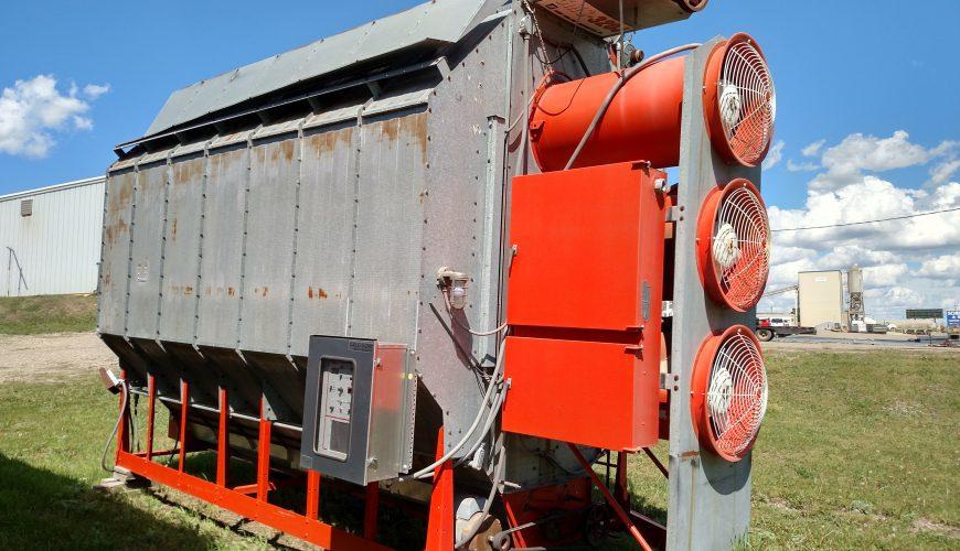 Used Grain Blowers : Used farm fans model cms j grain dryer