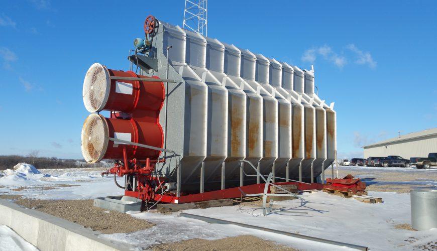Used Grain Blowers : Used brock superb model sd vq grain dryer